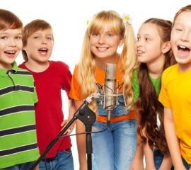 Уроки вокала с малышами